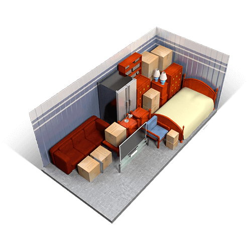 Self storage units storage facilities at security self for 10x20 living room
